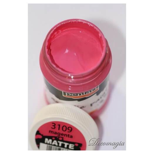 Χρώμα ακρυλικό Pentart 100ml, Magenta