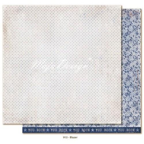 Χαρτί Scrapbooking Maja Collection,Denim & Friends - Blazer, διπλής όψης