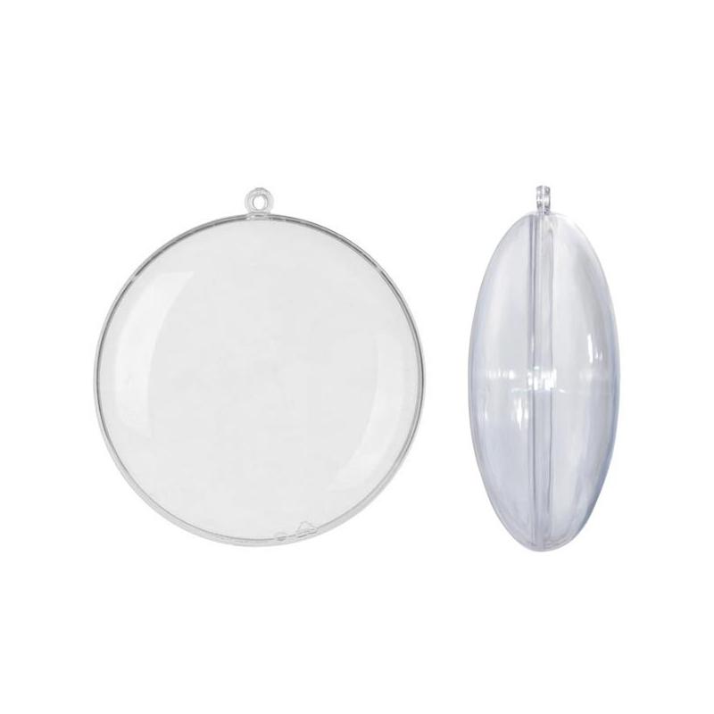 Μενταγιόν διαφανές Plexiglass Ø10cm