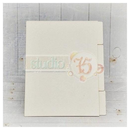 Χωρίσματα για σημειωματάριο, 21x16 cm