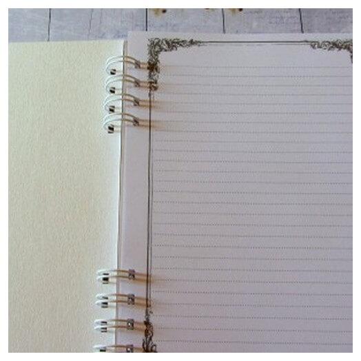 Σημειωματάριο με εξώφυλλο, 10x15 cm