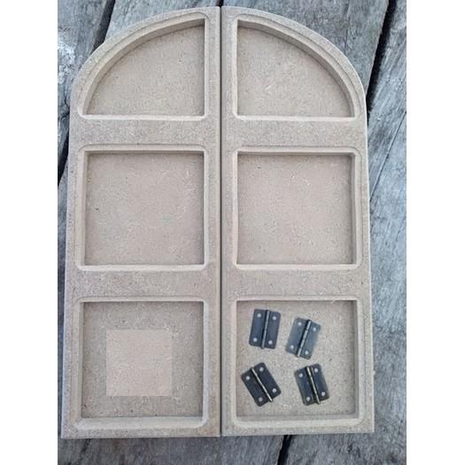 Κορνίζα-παράθυρο mdf, 28,5x20cm
