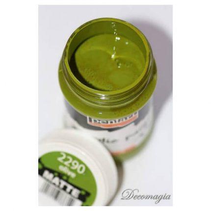 Χρώμα ακρυλικό Pentart 100ml, Olive
