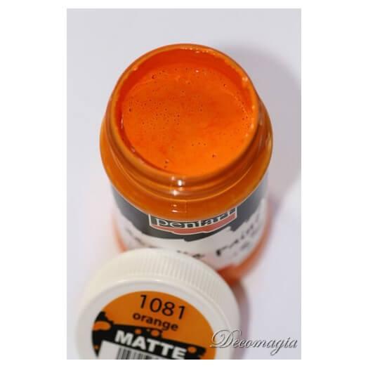 Χρώμα ακρυλικό Pentart 100ml, Orange