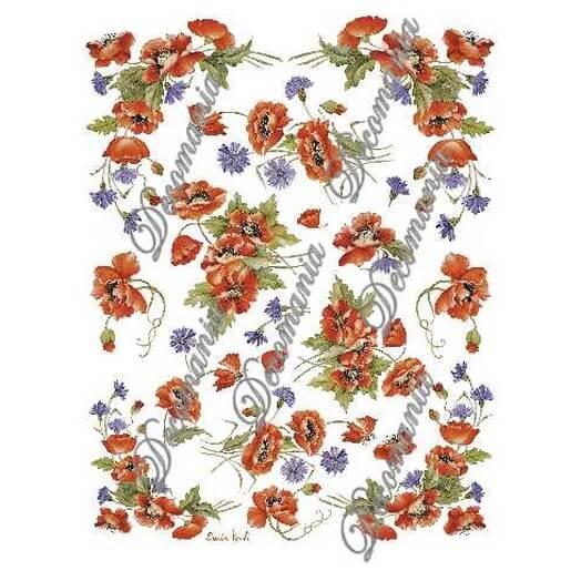 Χαρτί Decomania 30x42cm