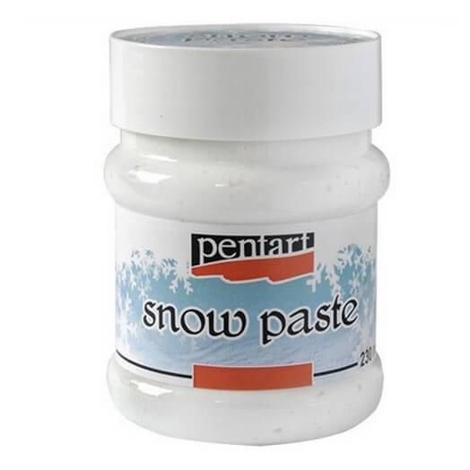 Snow paste Pentart, 230 ml