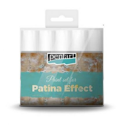 Patina effect paint set, 5x20 ml, Pentart
