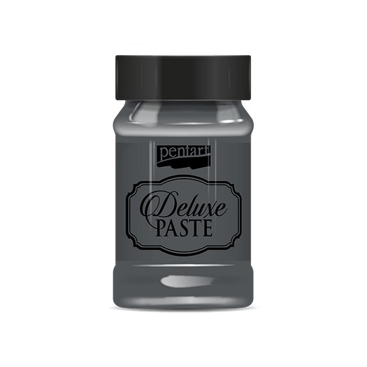 Deluxe paste 100 ml Pentart antharacite