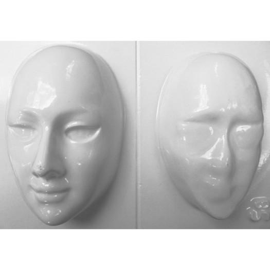 Καλούπι γύψου 18x29cm, faces