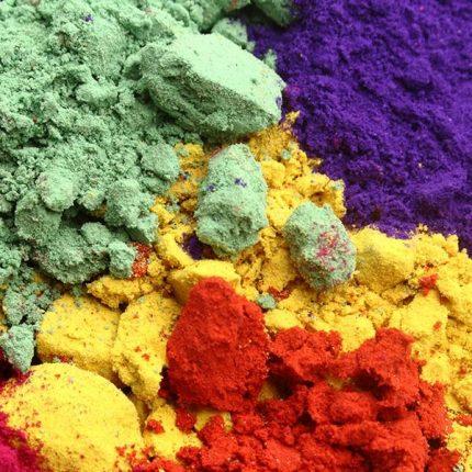 Pigments - Πορπορίνες