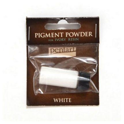Pigment powder white 3 gr, Pentart
