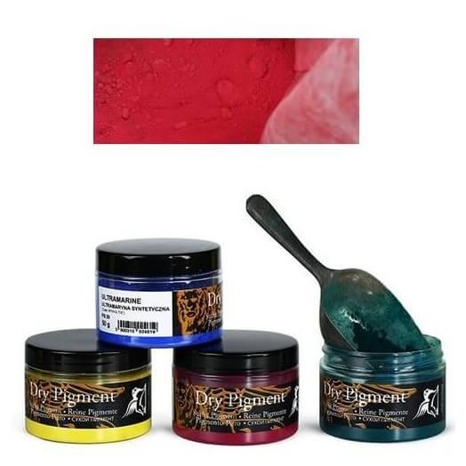 Σκόνες αγιογραφίας Α' ποιότητας Renesans 50g - Cadmium dark red