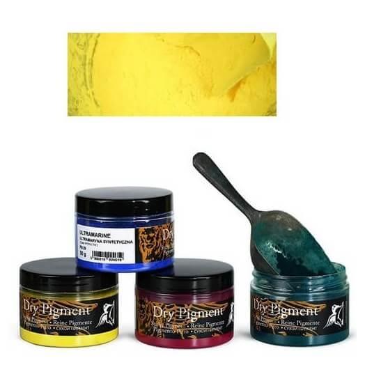 Σκόνες αγιογραφίας Α' ποιότητας Renesans 50g - Chrome Yellow