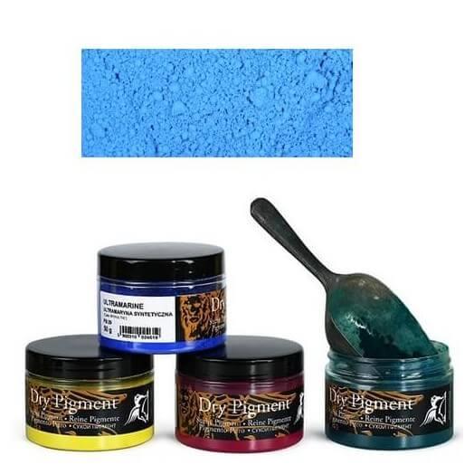 Σκόνες αγιογραφίας Α' ποιότητας Renesans 50g - Cobaltic blue