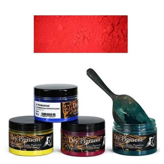 Σκόνες αγιογραφίας Α' ποιότητας Renesans 50g - Permanent Red