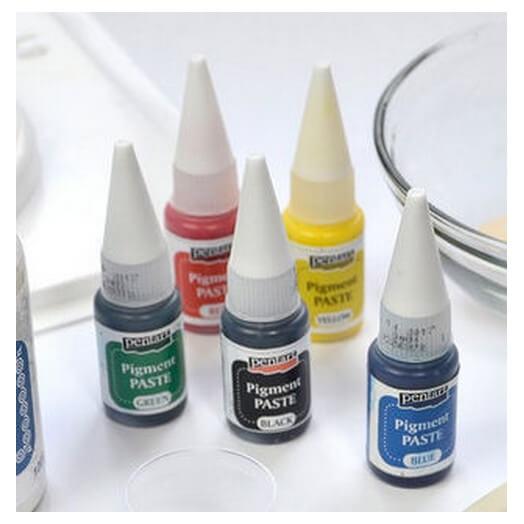 Pigment paste 20ml Pentart - Black