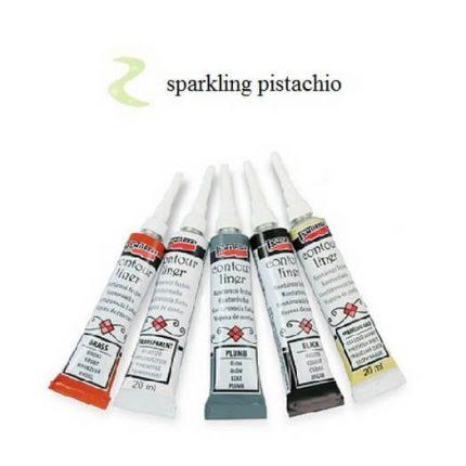 Contour Liner Pentart 20ml - Sparkling Pistachio