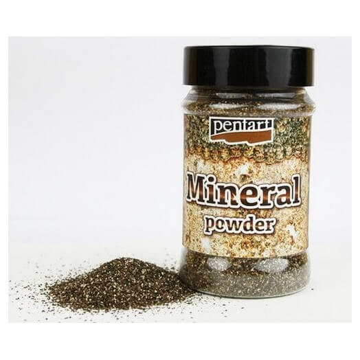 Mineral Powder 130gr Pentart - Platinum Granite