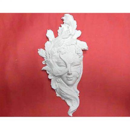 Μάσκα πολυεστερική, EL4233, 16x32cm