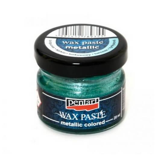 Πατίνα Wax paste Metallic 20ml Pentart - Turquoise