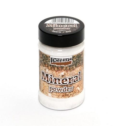 Mineral Powder Fine, 130gr Pentart, Quartz