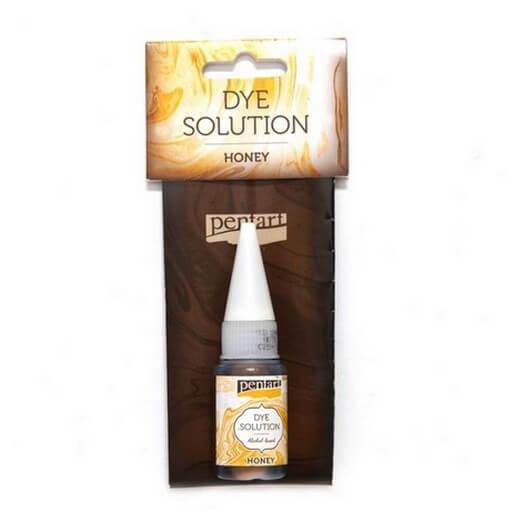 Dye Solution 10ml Pentart - Honey