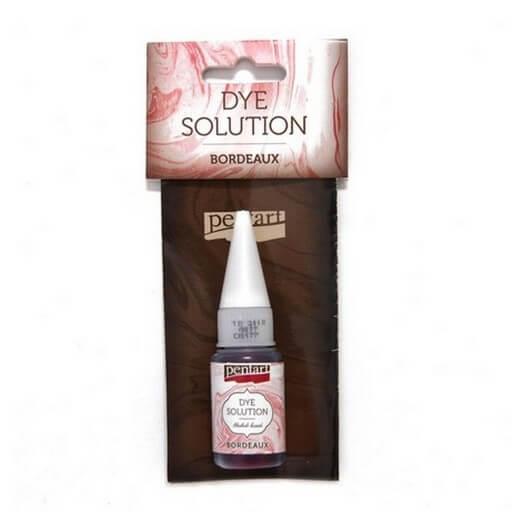 Dye Solution 10ml Pentart - Bordeaux