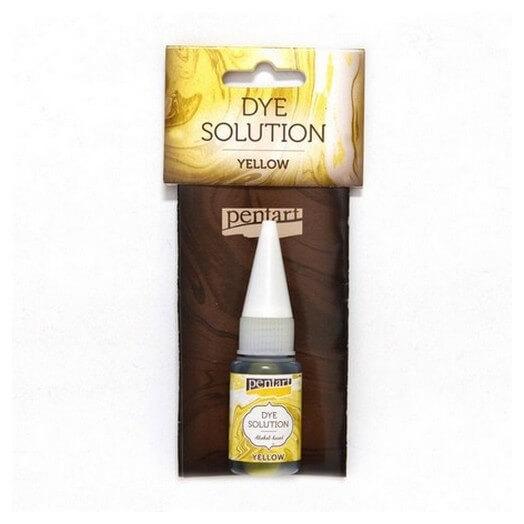 Dye Solution 10ml Pentart - Yellow