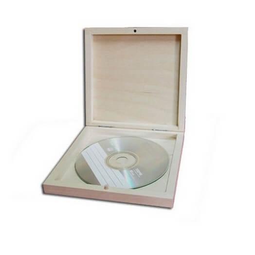 Κουτί για CD  127 x 127 x 20 mm