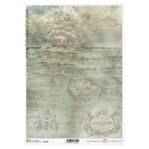 Ριζόχαρτο ITD Collection, 21x29cm, R1138
