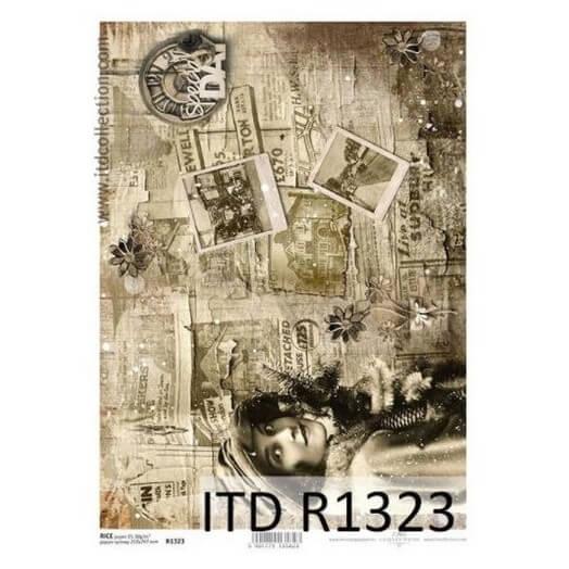 Ριζόχαρτο ITD, 21x29cm, Παλιές φωτογραφίες, R1323