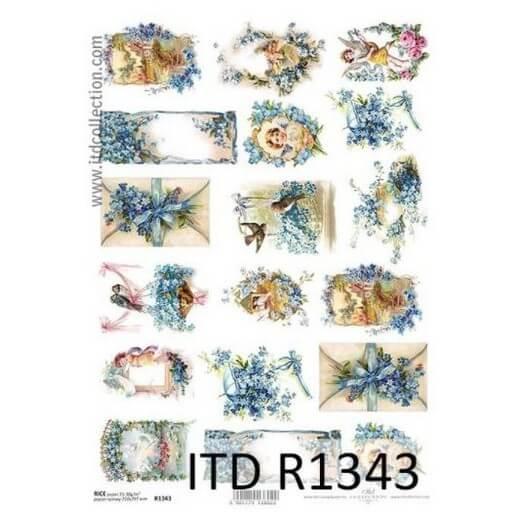 Ριζόχαρτο ITD, 21x29cm, Πασχαλιές, R1343
