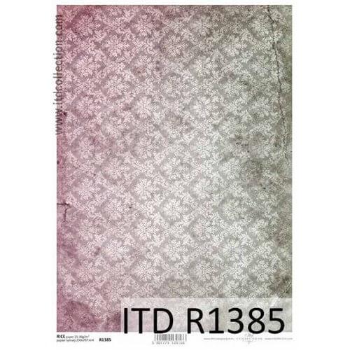 Ριζόχαρτο ITD, Ταπετσαρία, 21x29cm, R1385