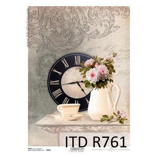Ριζόχαρτο ITD, 21x29cm, Ώρα για καφέ, R761