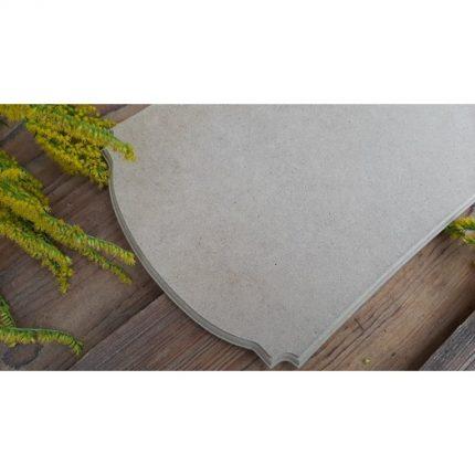 Πινακίδα mdf σε σκαλιστές άκρες, 20x30cm