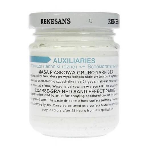 Πάστα Coarse-grained (χοντρόκοκκη) Sand Effect, Renesans, 125ml