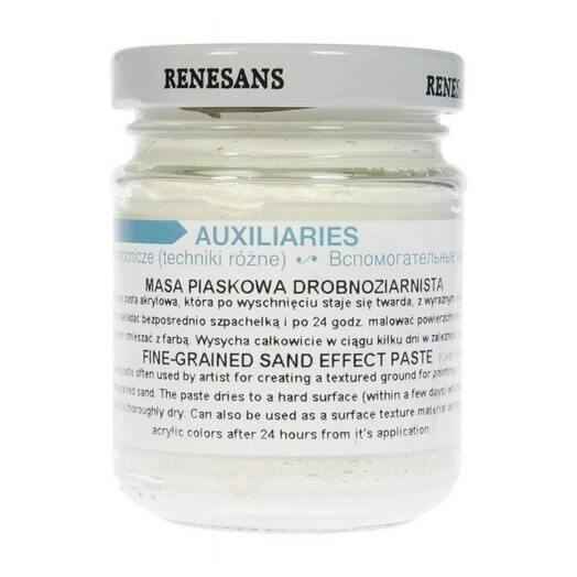 Πάστα Fine-grained (λεπτόκοκκη) Sand Effect, Renesans, 125ml