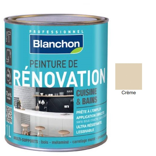 Χρώμα Renovation Blanchon, Creme, 500ml
