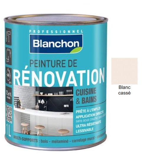 Χρώμα Renovation Blanchon, Υπόλευκο (Blanc casse), 500ml