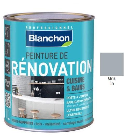 Χρώμα Renovation Blanchon, Γκρι λινό (Gris lin), 500ml