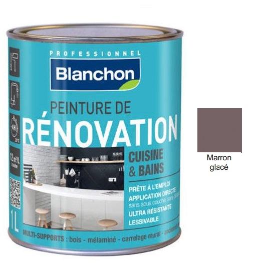 Χρώμα Renovation Blanchon, Καφέ κάστανο (Marron Glace), 500ml