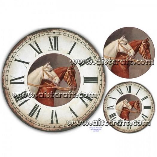Ριζόχαρτo Aist 32x45cm, Clock Horses, RP45540