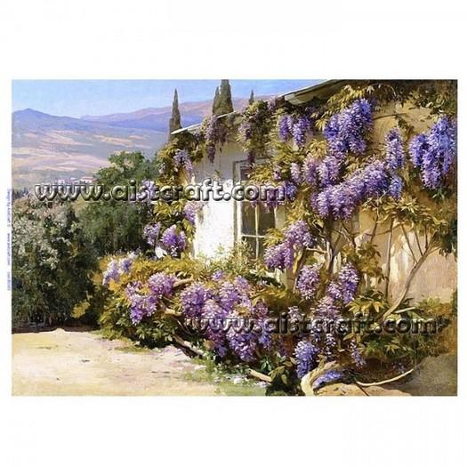 Ριζόχαρτo Aist 32x45cm, Landscape wisteria, RP45593