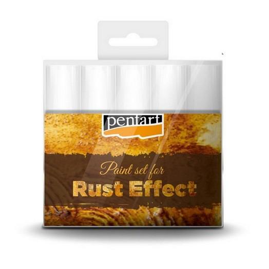Rust effect paint set 5x20ml Pentart
