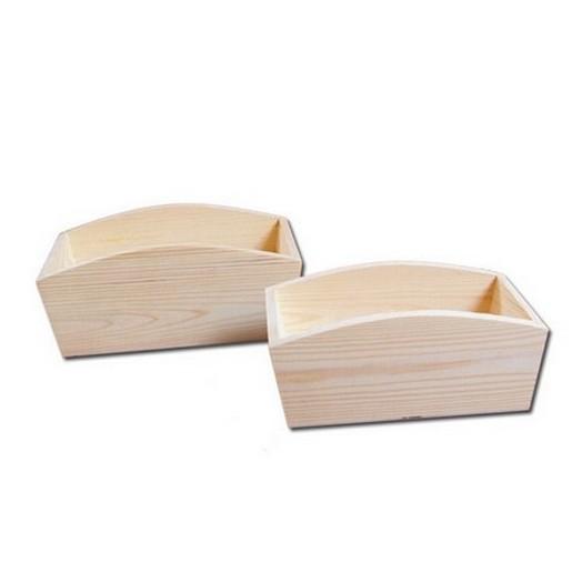 Ψωμιέρα ξύλινη μικρή, 25x12x10cm