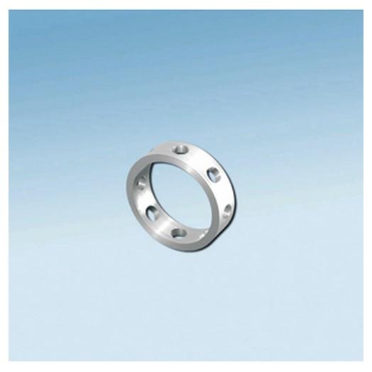 Δαχτυλίδι Τετράγωνο με Τρύπες 10 mm,set 4τεμ. FIMO