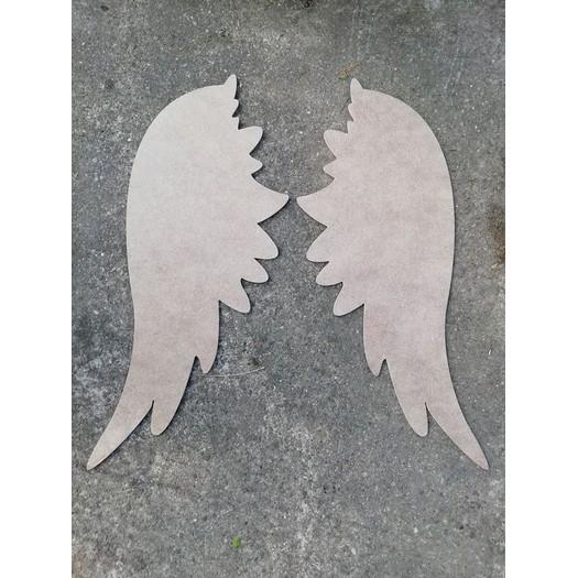 Φτερά αγγελου MDF σετ, 70cm