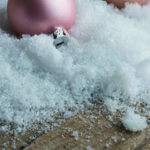 Snow powder - Διακοσμητικό χιόνι τρίμμα, 120gr
