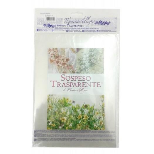 Ζελατίνες διάφανες για Sospeso Trasparente Monica Allegro , 4 φύλλα.