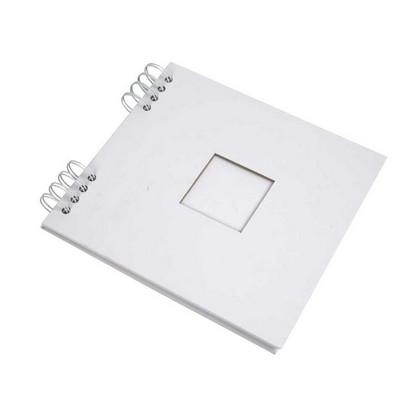 Spiral Τετράδιο Scrapbook, 20x20 cm